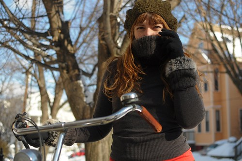 Wool Knitted Hat, Jigsaw Sweater | by Lovely Bicycle!