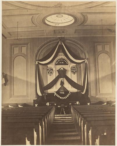 Wedding Altar Name: Interior Of Unknown Church, Facing Altar