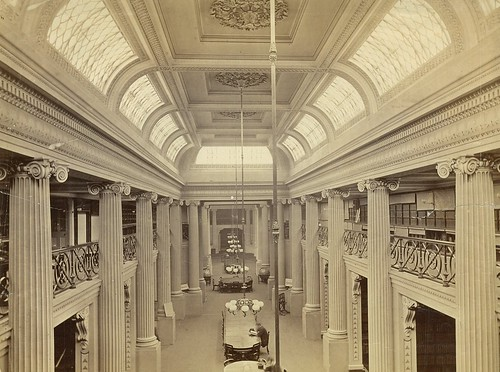 Queens Hall, State Library of Victoria, after 1866 / photographer unknown | by State Library of New South Wales collection