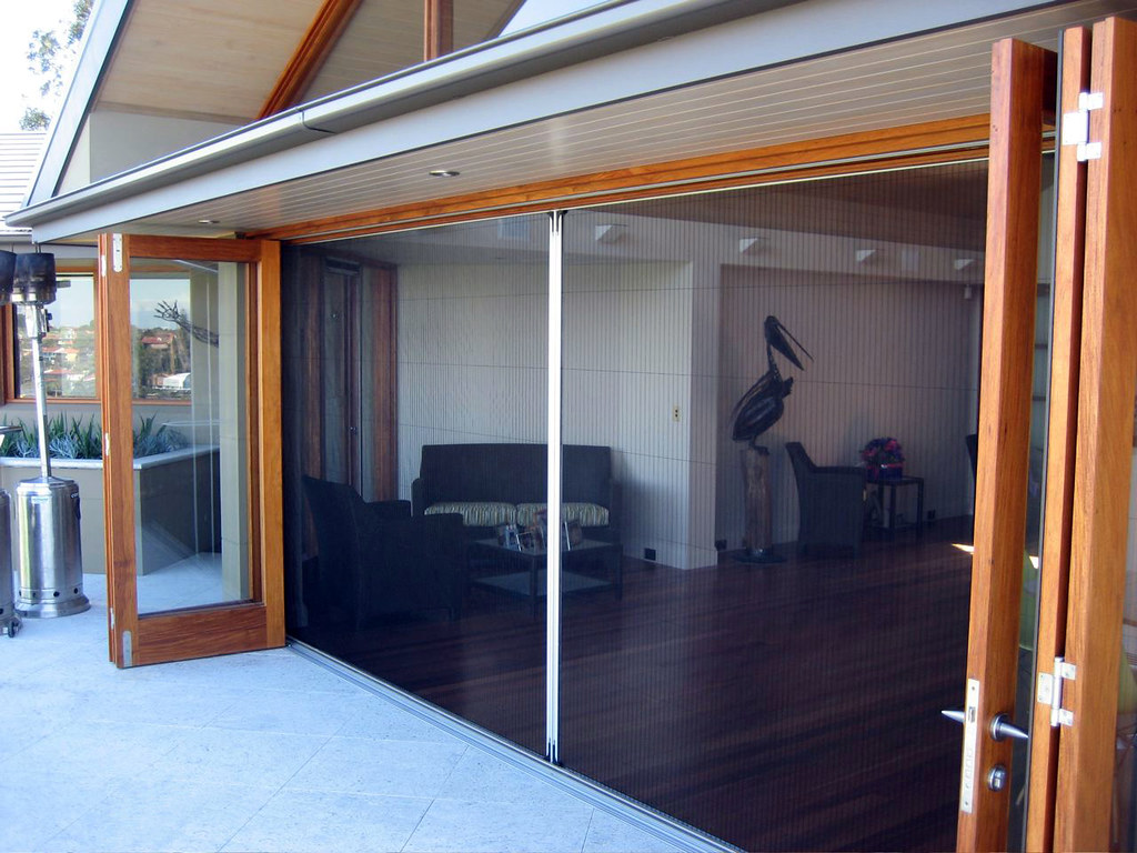 Winsect Retractable Fly Screen Doors Pre Tensioned Screen Flickr