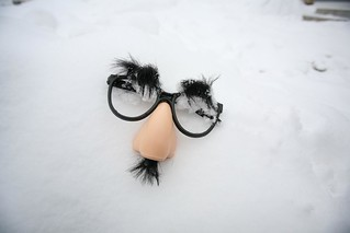 Accidental Snowtime Groucho | by massdistraction