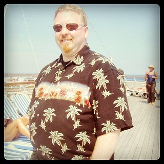 Me at forty. Cruising the Caribbean, looking for Margaritaville. | by ObieVIP