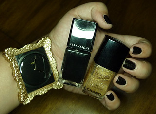 Chanel Illusion D'Or + Illamasqua Boosh | by pajammy