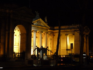 Bank of Ireland College Green at night 10 March | by chiarraigrrl
