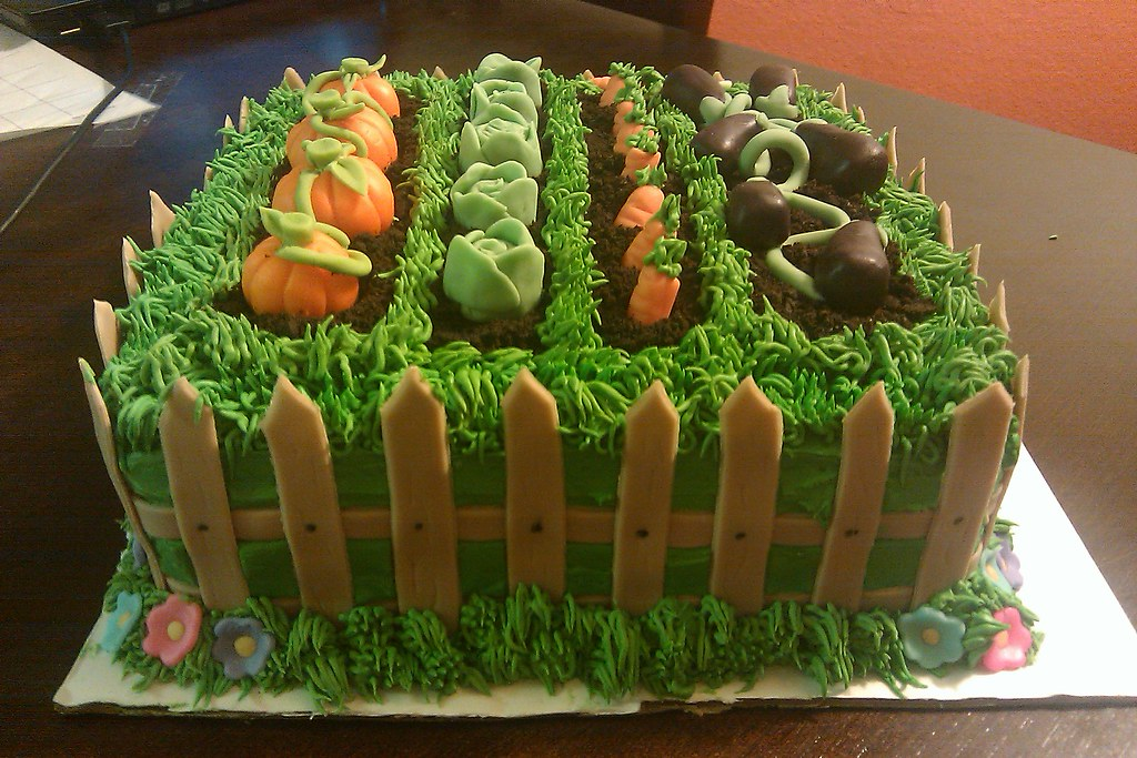 Garden Birthday Cake | Garden Birthday Cake | Christian Smith | Flickr