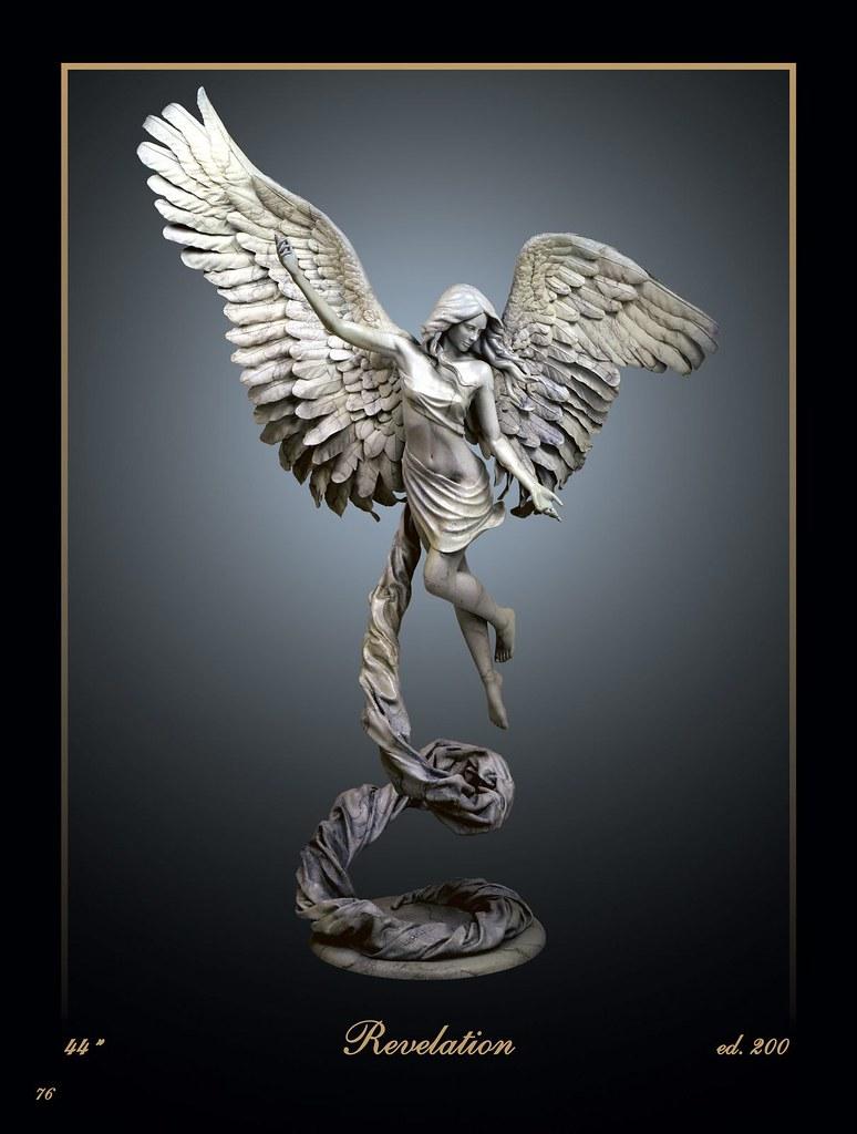 Very Angel Sculpture, Statue, Art | Mike Fields Bronze Wildlife S… | Flickr VO94