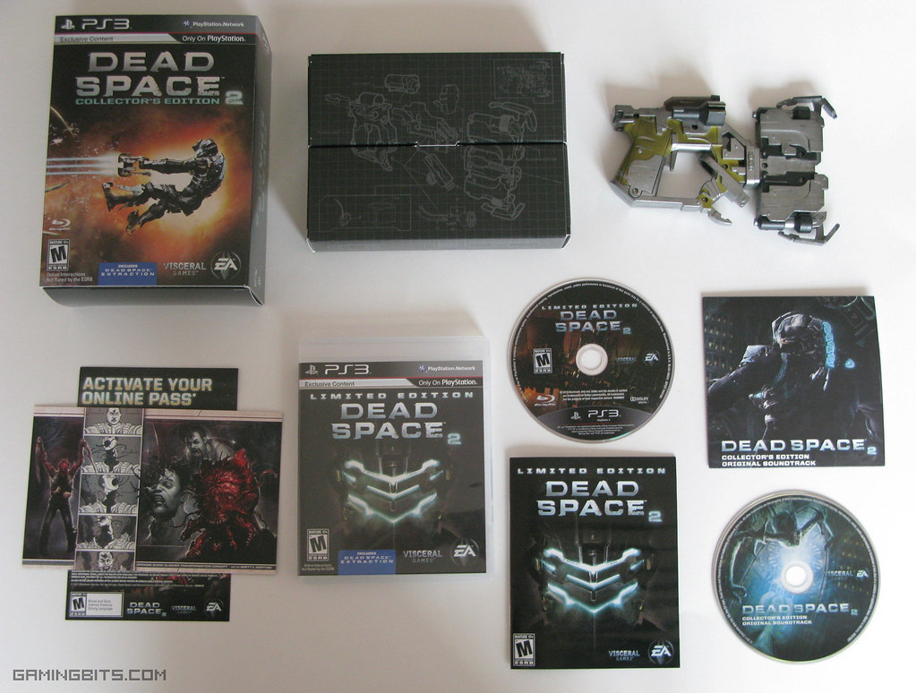 Amazon lets slip the dead space 2 collector's edition.