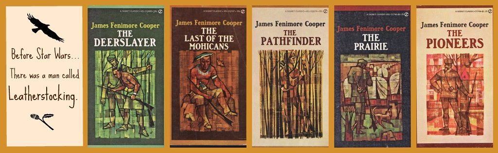 The Leatherstocking Series The Covers Of The 1970s Signet Flickr