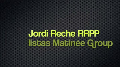 Jordi Reche, RRPP Listas Matinée Group on Vimeo by Jordi Reche | by jordireche