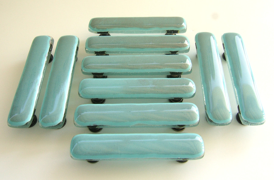 ... Turquoise Copper Cabinet Handles | by Joan Rosen & Turquoise Copper Cabinet Handles | Glass cabinet pulls in cou2026 | Flickr