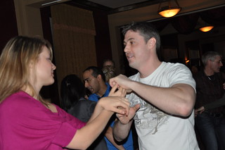2011-01-29 @ Acrobat Lounge | by torontodancesalsa