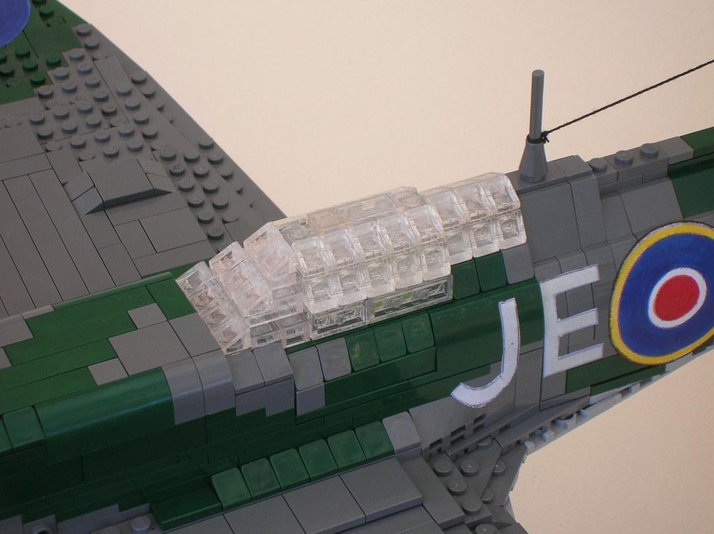 spitfire lego. lego spitfire mk ix (cockpit) | by monster