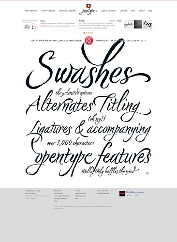 Positype Type Foundry | Neil Summerour | by luxuryluke