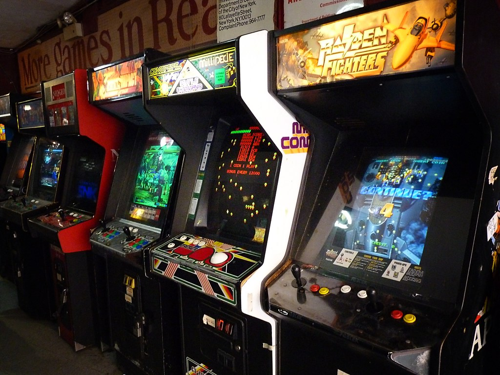Image result for Video Arcade