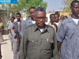 Abdirahman Farole, President of Puntland, formerly a part of Somalia. The breakaway territory is having conflicts with Somaliland, another breakaway area that has declared its independence from people in the south and central regions of the country. | by Pan-African News Wire File Photos