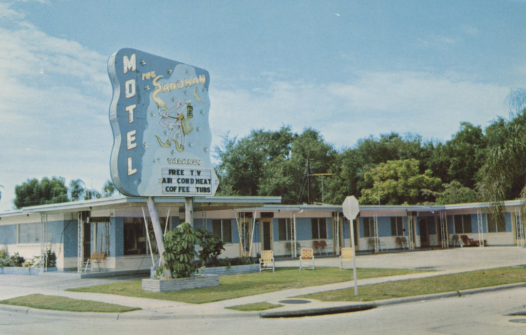 The Sandman Motel - St. Petersburg, Florida
