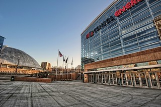 "CONSOL Energy Center and the ""Igloo"" HDR 
