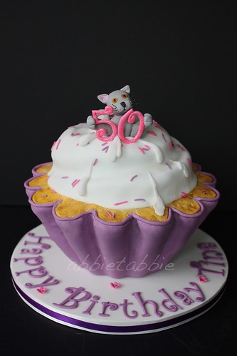 Giant Cupcake Birthday Cake ...... | by abbietabbie