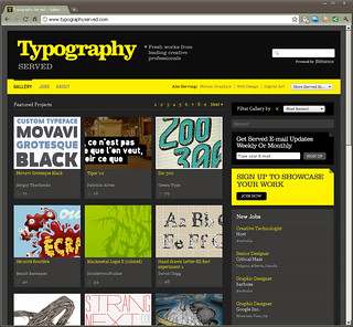 Movavi Grotesque featured on TypographyServed | by Sergiy Tkachenko / 4th february