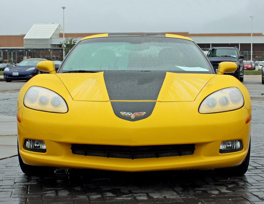 ... Myoldpostcards 2008 Chevrolet Hertz Corvette ZHZ Special Edition (1 Of  10) | By Myoldpostcards