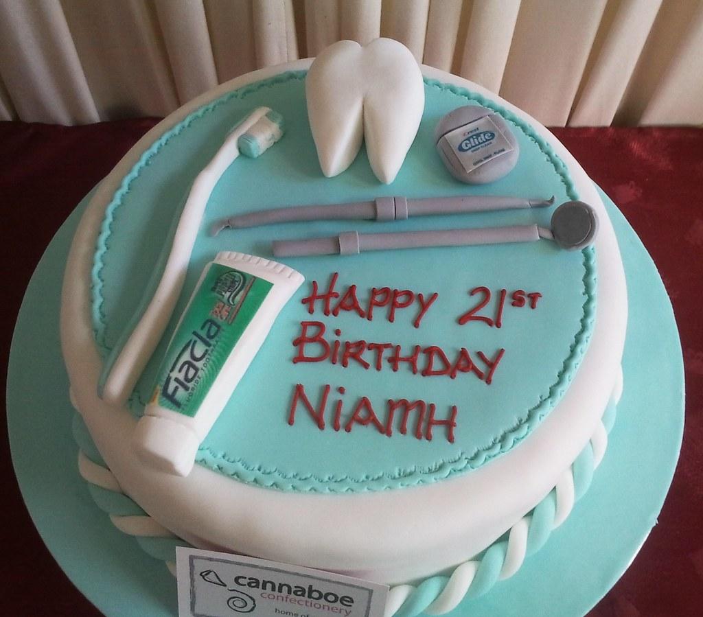 Dental Cake Sharon Sweeney Flickr