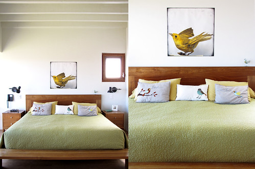 Our birdroom, I mean bedroom ;) | by Geninne