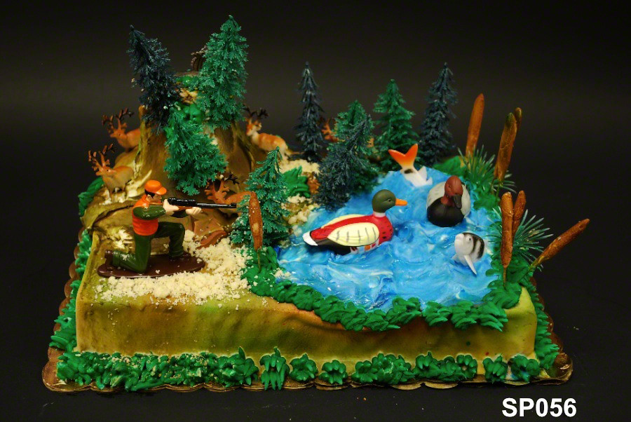 Sp056 Hunters Birthday Cake 3 Brothers Bakery Flickr
