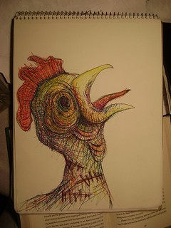 zombie chicken | by featheredmisanthrope