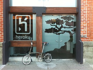 .@heroku's front door.   /cc @maddox @rtomayko | by seaofclouds