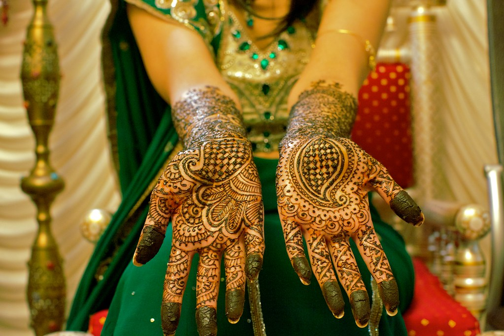 Mehndi Night : Mehndi night: hands. my sisters elaborate hand oru2026 flickr