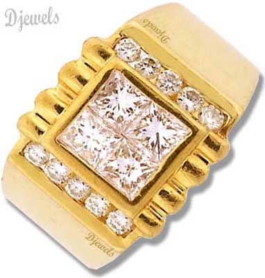 Gents Gold Diamond Ring Djewels dot org is India s one of …