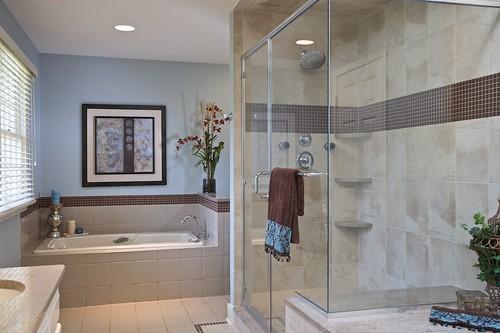 Master bathroom design remodel pennington nj master for Bathroom designs nj