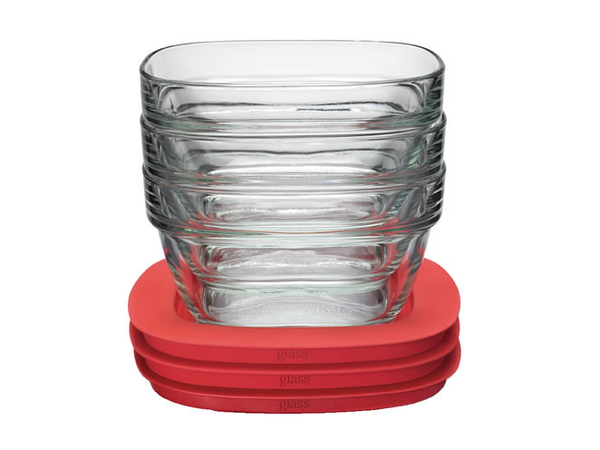 Glass food storage container with Easy Find Lids Now you Flickr