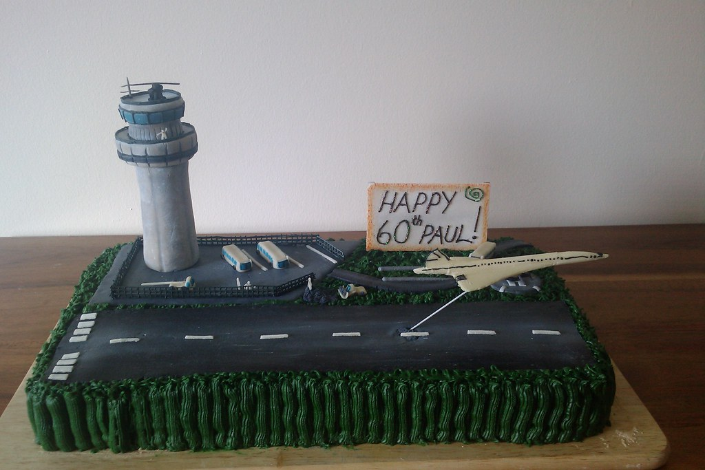 Airport Cake Graywilliams33 Flickr