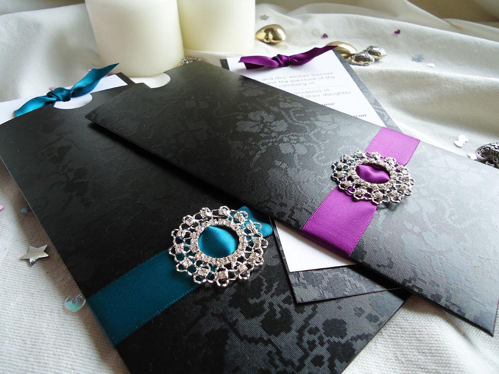 Ebony Wedding Invitations   Luxury handmade wedding invitati…   Flickr