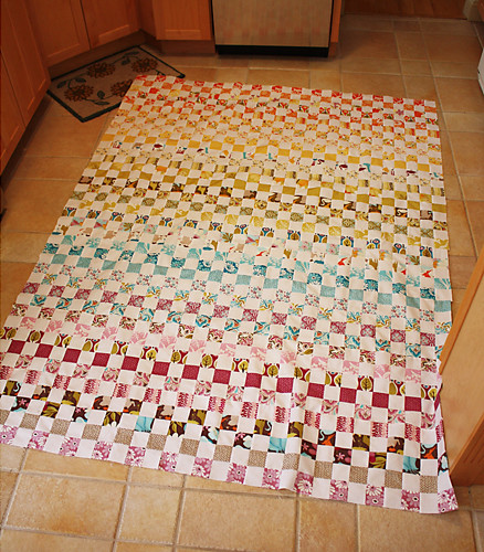 Postage Stamp Quilt a Long Top | by MyFabricObsession