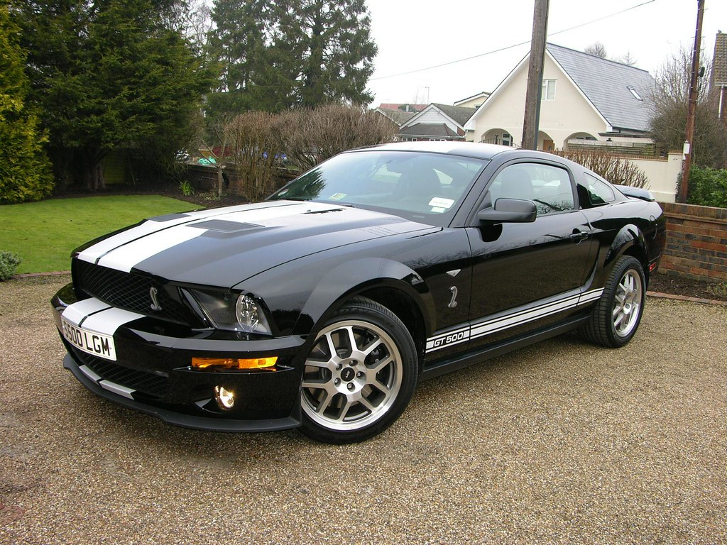 2008 ford mustang shelby gt500 by thecarspy