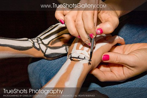 trueshots skeleton bride hands | by bodyartbykeegan