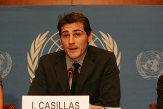 Iker Casillas | by United Nations Development Programme