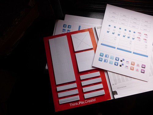 Our New Sponsor UXPin!  Participants for the next workshops on UX and IA will receive a copy of this fantastic paper prototyping tool. | by Follow The UX Leader