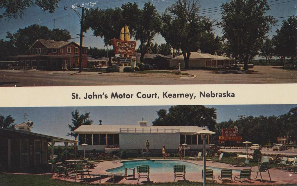 St. John's Motor Court - Kearney, Nebraska