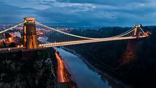 Clifton Suspension Bridge at Dusk | by Vaidas M