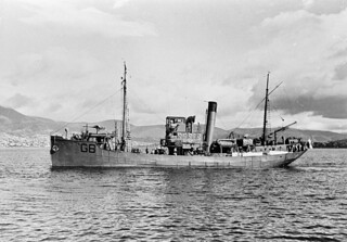 SELECTED WWII  AUXILIARIES: Brisbane-based minesweeper HMAS GOONAMBEE - Photo RAN Historical. | by Kookaburra2011