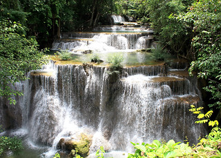 Waterfall Huai Mae Khamin after the rain time | by Thai pix Wildlife photography,,