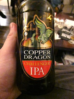 Copper Dragon Challenger IPA | by Billy's Booze Blog