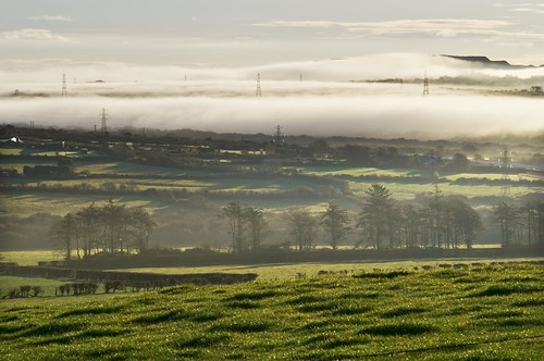 Early Morning View from Castle-an-Dinas, St Columb, Mid Cornwall | by magiccornwall