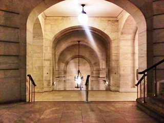 Intersecting corridors, New York Public LIbrary | by Ron Coleman