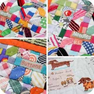 Mini Quilt from Smith's Aunt Leah | by badskirt