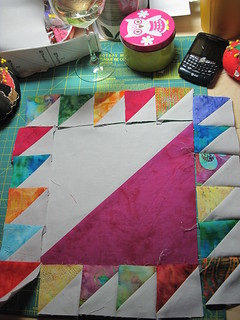 assembly | by Claudia Shearer Quilts
