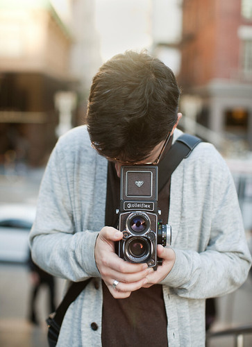 He's enjoying rollei life | by cindyloughridge